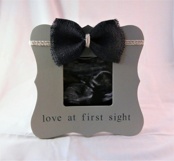 Baby shower boy gift ideas ultrasound frame love at first sight baby shower boy gift ideas ultrasound frame love at first sight baby shower mom gifts for baby boy frame from embellishedforlove on etsy studio negle Images