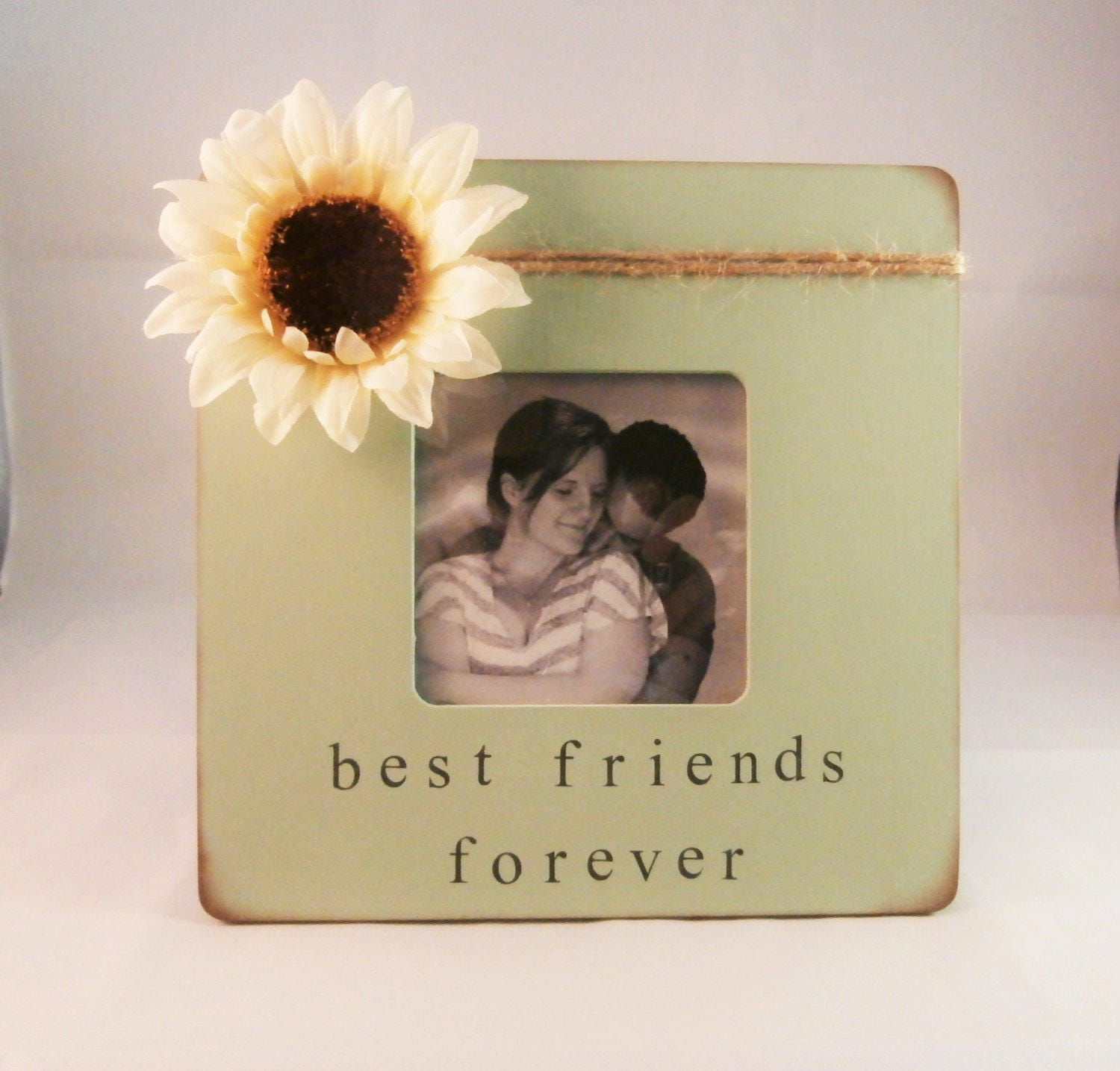 Best friends forever frame cute gifts for friends birthday | Etsy