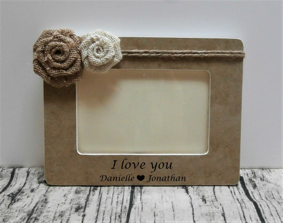 Birthday Gift For Boyfriend Personalized Picture Frame Etsy