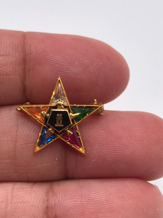 Order of the Eastern Star Pin