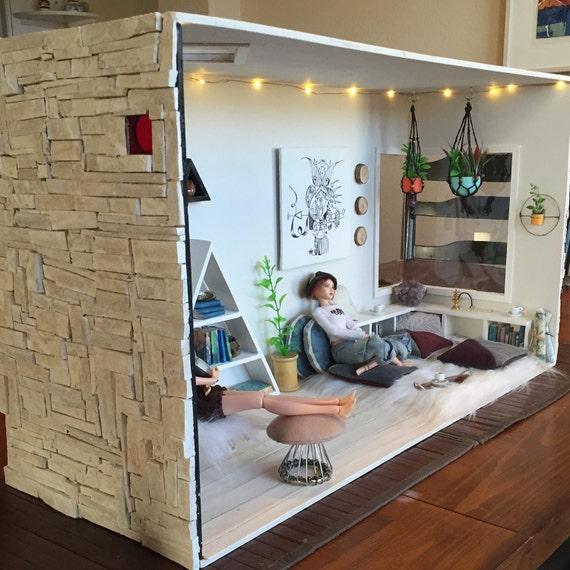 Doll Furniture 1//6 Roombox Kit ~ Floor Slab no Painting~ Silkstone Barbie