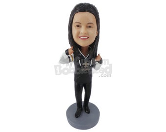 Custom Bobblehead Cool College Student, Sorority Girl Custom Bobblehead, Wedding Custom Bobblehead, Personalized Bobblehead
