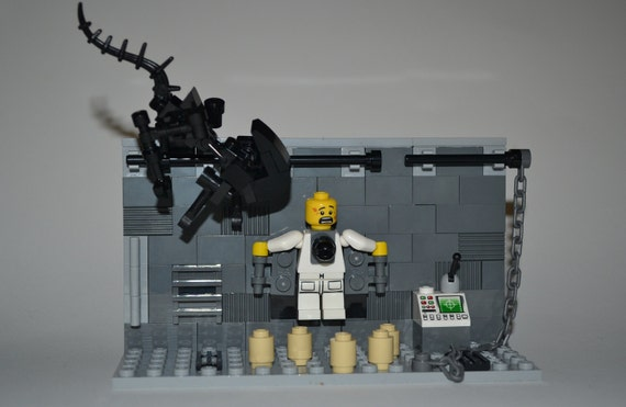 Lego Custom Mini Figure Aliens Xenomorph