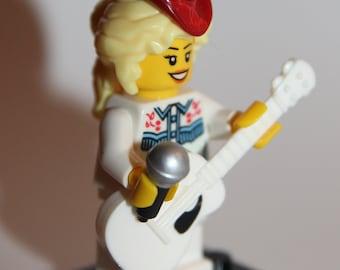 Custom Lego Dolly Parton