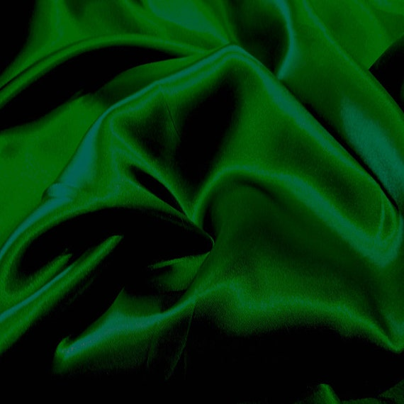 Jn00042 Sale Item Forest Green 42 Charmeuse Satin Soft Smooth Etsy