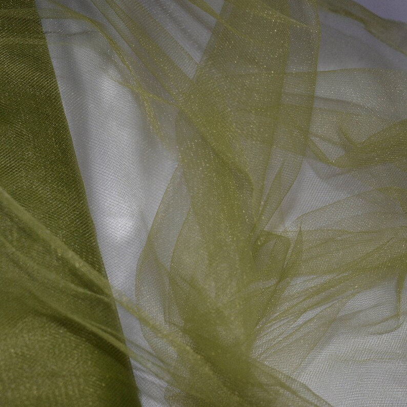 1 Lb 24 x 11 x 2 By The 10 Yard Bolt JN00562 Olive  Green Tulle 100/% Polyester Quality High Fashion Craft Home Decor 54 Salvage Ship Wt