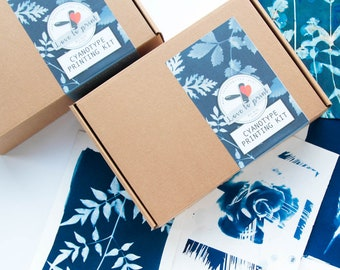 Cyanotype kit | make your own blueprints at home