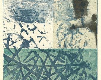 Take Flight etching sea bird print