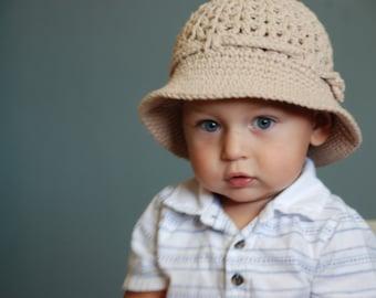15345b355 Baby boy summer hat | Etsy