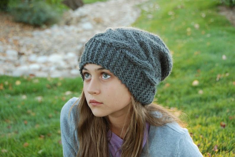 8822486e31d Luxury Baby Alpaca Slouchy Hat Slouch Beanie Women Men Hat