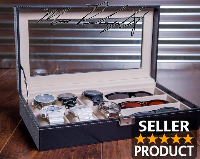 11de72f57e Watch   Sunglass Boxes - EngraveMyMemories
