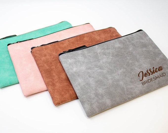 Makeup Bag, Personalized Cosmetic Bag