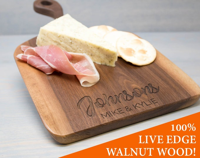 Walnut Wood Serving Cheese Board