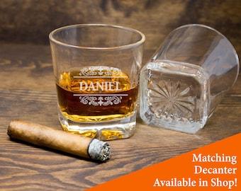 Whiskey Glass, Rocks Glass, Whiskey Glasses, Bourbon Glasses, Scotch Glass, Engraved Rocks Glass, Personalized Whiskey Glass, Decanter Glass