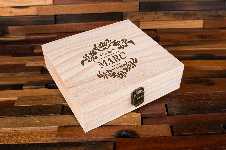 Best Man Gift Box Man Gift Box Mens Gift Box Men Memory Box Box