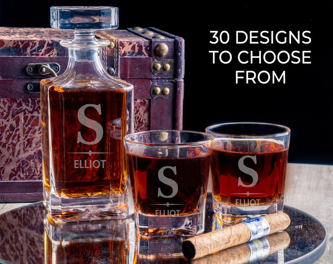 Decanter, Whiskey Gift, Dad Gift, Best Father Gift, Gifts for Pop, New Dad Gift, Step-Dad Gift, Gift for Daddy Men's Gift, Barware Gift