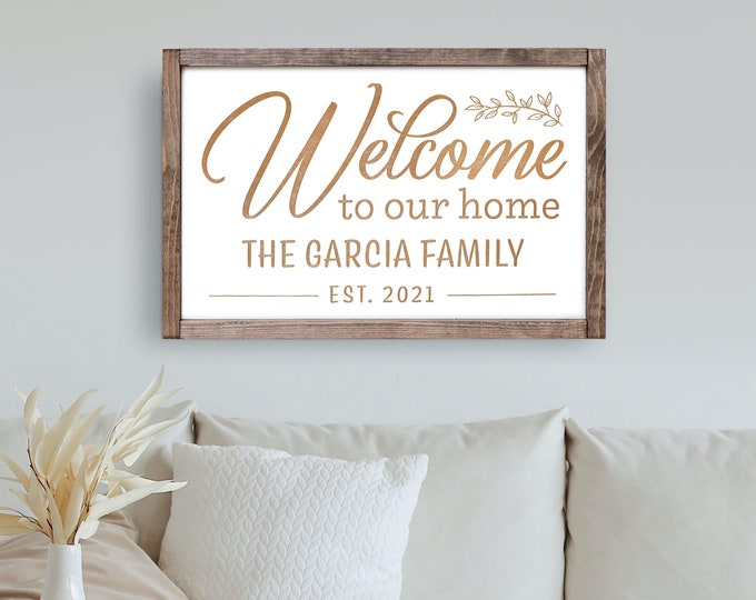 Homestead Sign with Family Name, Family Name, Family Established Sign, Last Name Wood Sign, Last Name Wall Sign, Family Established Plaque