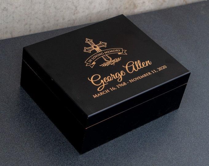Classy Memorial Gift Box, Memorial Gifts, Classy Memory Box, Classy Memorial Keepsake, Sympathy Gift, Bereavement Gift, Remembrance Gift