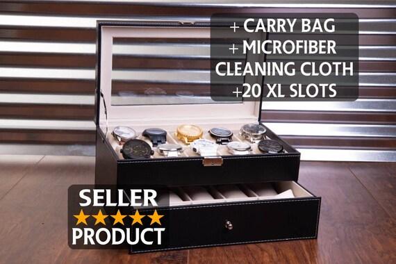 20 Slot Watch Box Case Sunglass Watch Storage Watches | Etsy