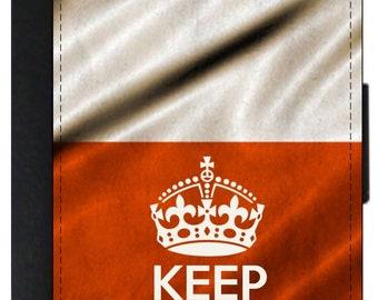 KEEP CALM UNION JACK UK US EUROPEAN PASSPORT COVER HOLDER PROTECTOR CASE GIFT