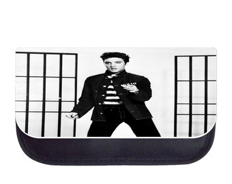 Elvis Presley Jailhouse Rock - Black Pencil Bag - Pencil Case