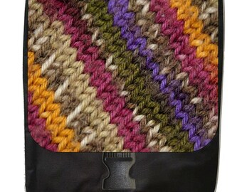 Yarn Print Design - Backpack and Pencil Bag Set