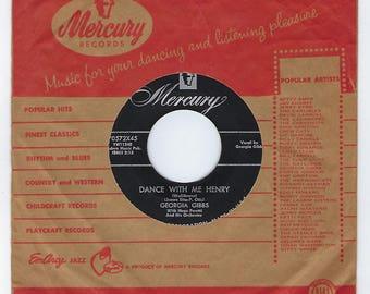 Georgia Gibbs - Dance with Me, Henry / Ballin' The Jack - 45rpm - 1955