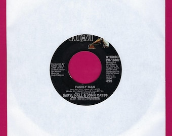 Hall & Oates - Family Man / Open All Night - 45rpm - 1982