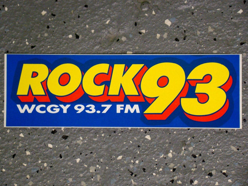 1992 Bumper Sticker WCGY