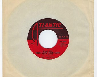 The Drifters - (If You Cry) True Love, True Love / Dance With Me - 45rpm - 1959