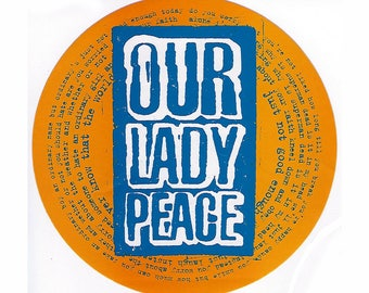 Our Lady Peace - Clumsy - Bumper Sticker - 1997