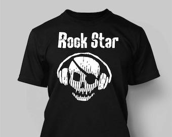 aa913680 Rock star tshirt | Etsy