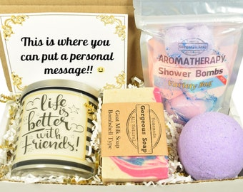 Custom Friend Gift Box, Personalized Friend Gifts, Personal Message, Custom Personalize, Custom Gift, Personalized Gift, Gift Box For Friend