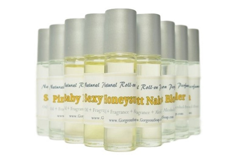 Natural Roll-on Perfume Oil  Perfume Oil Roll-On Fragrance image 0