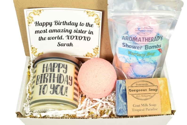 Custom Birthday Gift Box Ideas Happy