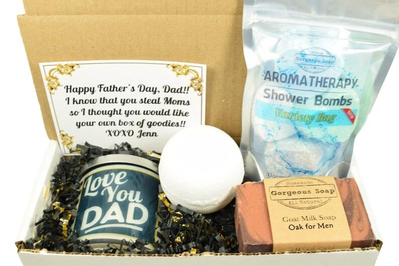 Custom Dad Gift Box For Christmas