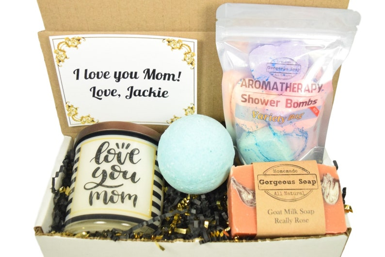 Custom Mom Gift Box Mothers Day Gift Ideas Gift For Mom Mothers Gift Set Mom Gift Basket Gift Box For Mom Mothers Day Personalized