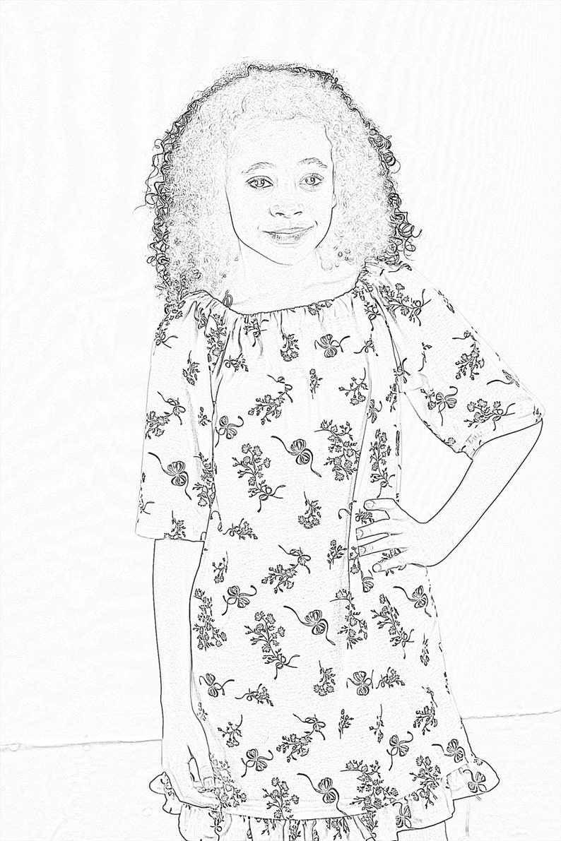 Girls Coloring Pages/Fashion Coloring Pages/Activity Pages/Fun Coloring  Pages/Clothing to Color