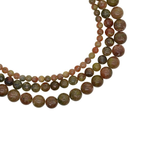 "15/"" Strand Picture Jasper Gemstone Loose Spacer Beads Jewelry Makings 4//6//8//10MM"