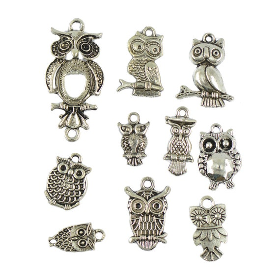 Christmas Xmas Charms 9 Tibetan Silver Choose from 3 Mixed Sets 13 or 15pcs