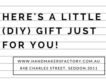 Gift Voucher. Give the gift of creativity and learning. Creative workshops and DIY creative craft kits.