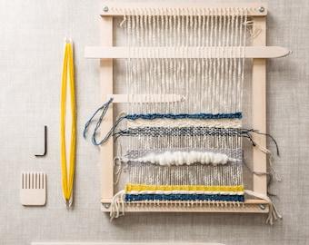 Handcrafted tapestry weaving loom DIY kit. Learn to weave. Handmade in Melbourne