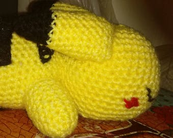 Napping Pikachu