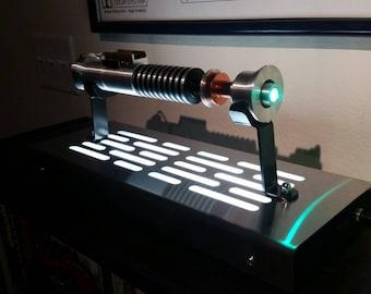 Star Wars Lightsaber Display stand with LED lights