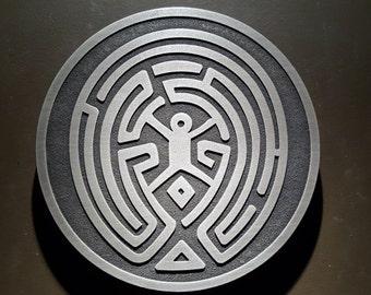 Westworld Maze wall plaque