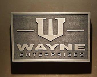Wayne Enterprise Batman sign