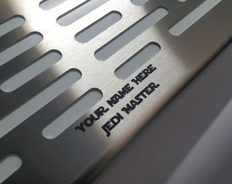 Add customization to your Lightsaber or Blaster stand