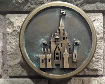 Disney World Magic Kingdom Gateway plaque replica