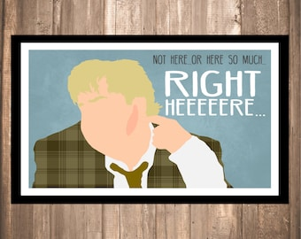 """INSTANT DOWNLOAD - Tommy Boy """"Right Here"""" Print"""