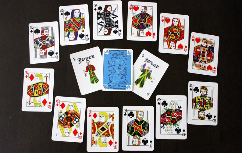 Game of Thrones Playing Cards  Traditional Design Deck of image 0